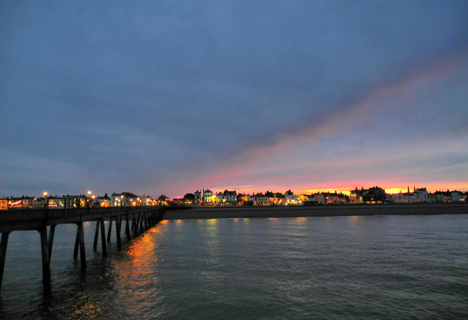 <p>Wander around antiques stores and marvel at the pier in Deal.<br><i>[Photo: Flickr/Marcel Musil]</i> </p>