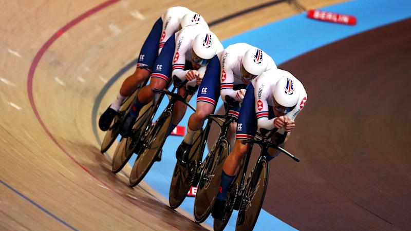 Great Britain out of gold medal contention as Denmark smash world record