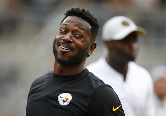 Many NFL scouts missed on Antonio Brown, a sixth-round pick of the Pittsburgh Steelers. Now he's a possible Hall of Famer. (Getty Images)