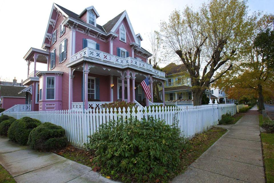 "<p>Forget any associations you may have with Snooki and the <em>Jersey Shore</em> cast, this charming Victorian town will win you over to the quiet life at the southern tip of these barrier islands. <a href=""http://www.capemay.com/"" rel=""nofollow noopener"" target=""_blank"" data-ylk=""slk:Cape May"" class=""link rapid-noclick-resp"">Cape May</a> takes Valentine's Day seriously: Local hotels, restaurants and shops conspire to offer breakfasts in bed, wine tastings, handmade chocolate treats and more. The celebrations extend a few days beyond the holiday, too, in case you want to linger longer in the bliss. </p><p><a class=""link rapid-noclick-resp"" href=""https://go.redirectingat.com?id=74968X1596630&url=https%3A%2F%2Fwww.tripadvisor.com%2FTourism-g46341-Cape_May_Cape_May_County_New_Jersey-Vacations.html&sref=https%3A%2F%2Fwww.redbookmag.com%2Flife%2Fg35212951%2Fromantic-weekend-getaways%2F"" rel=""nofollow noopener"" target=""_blank"" data-ylk=""slk:PLAN YOUR TRIP"">PLAN YOUR TRIP</a></p>"