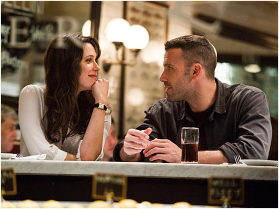"""Rebecca Hall and Ben Affleck in """"The Town."""""""