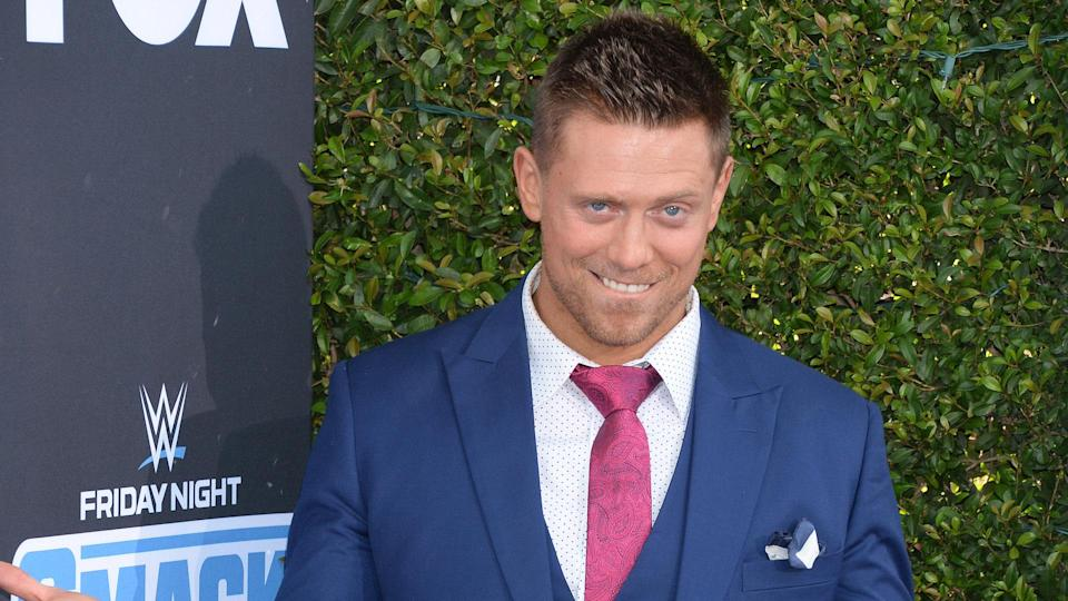 """<p><span><span>The Miz has been a WWE star since the mid-2000s — he won his first WWE Championship in 2010. Before that, however, he had already gotten used to the limelight thanks to his role as one of seven strangers on """"The Real World: Back to New York"""" in 2001. </span></span></p> <p><small>Image Credits: Broadimage/Shutterstock</small></p>"""
