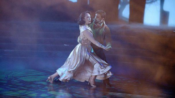 PHOTO: Cheryl Burke and AJ McLean perform on Dancing With The Stars, Oct. 26, 2020. (Eric McCandless/ABC)