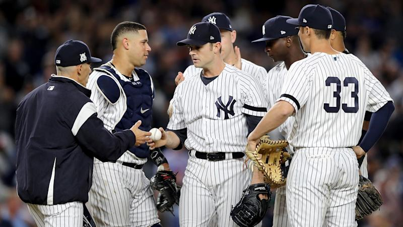 Court still in session as Judge and Yankees top Twins in wildcard game