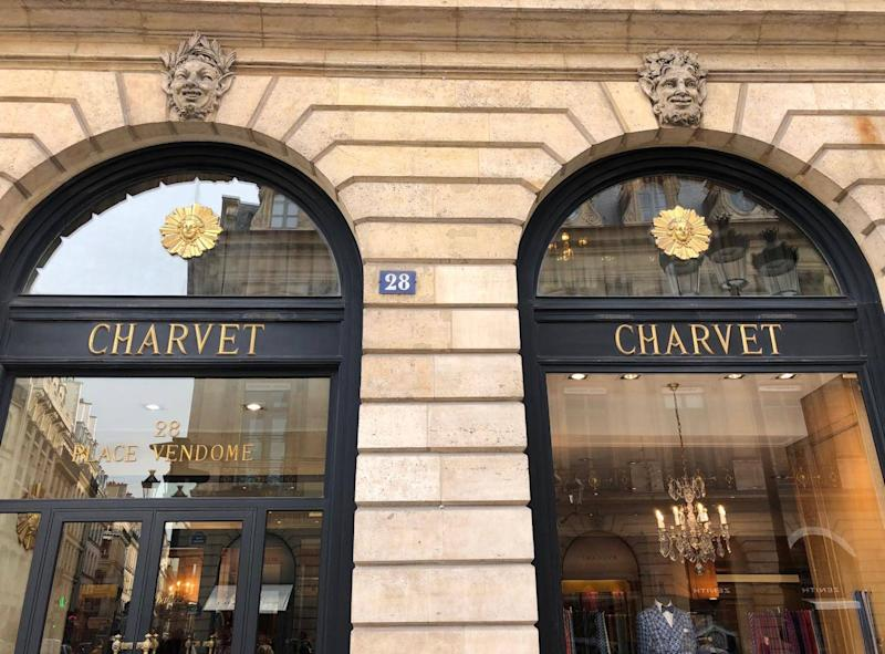 Charvet is the world's first shirt shop (Lindsey Johnstone)