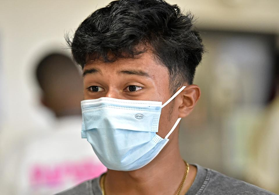 Booker High School student senior Erick Reynoso, 17, said that while some of his teachers are overwhelmed by the technology, the day-to-day operation of the school was smooth.