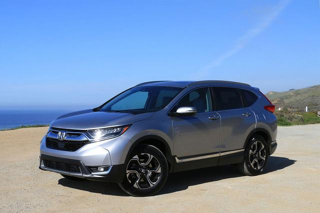 hondas all new cr v gains a range of upgrades and will start at honda front angle