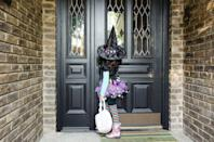 """<p>You can still hand out candy to your neighbors and maintain social distancing with genius tactics like a candy chute or <a href=""""https://www.delish.com/food-news/a33957812/halloween-trick-or-treating-candy-slide/"""" rel=""""nofollow noopener"""" target=""""_blank"""" data-ylk=""""slk:slider"""" class=""""link rapid-noclick-resp"""">slider</a>.</p><p><a class=""""link rapid-noclick-resp"""" href=""""https://www.delish.com/food-news/a34099576/halloween-candy-chute-trick-or-treat/"""" rel=""""nofollow noopener"""" target=""""_blank"""" data-ylk=""""slk:LEARN HOW TO MAKE A CANDY CHUTE"""">LEARN HOW TO MAKE A CANDY CHUTE</a></p>"""