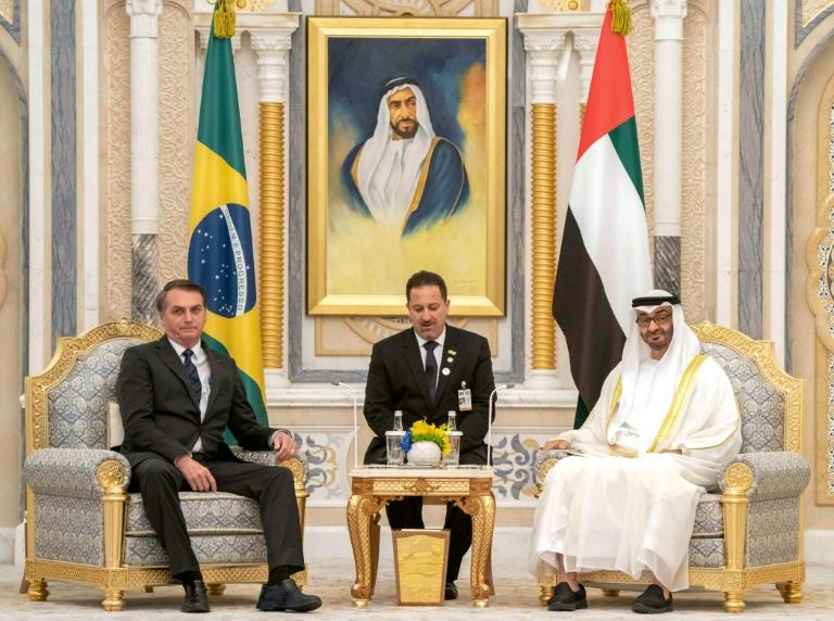 On his first visit to the Arab world, Brazilian President Jair Bolsonaro has signed a number of agreements with the United Arab Emirates in Abu Dhabi