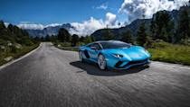 """<p>While the combined mpg rating for Lamborghini's flagship <a href=""""https://www.caranddriver.com/lamborghini/aventador"""" rel=""""nofollow noopener"""" target=""""_blank"""" data-ylk=""""slk:Aventador"""" class=""""link rapid-noclick-resp"""">Aventador</a> (in both coupe and roadster versions) is the same as the Chiron, the Lamborghinis are 2 miles per gallon better on the highway (15 versus 13). But you don't get 730 horsepower and 509 lb-ft of torque from a small, fuel-efficient engine, and that's what the Aventador offers in its unmistakable wedge-like body. You can get more power from the SVJ version, but the EPA does not offer breakout fuel-economy numbers for the variants. At least the Italians built cylinder deactivation and stop-start technology into the V-12, otherwise the numbers would probably be worse. </p><ul><li>Base price: $421,321</li><li>Engine: 730-hp 6.5-liter V-12 engine, seven-speed automated manual transmission</li><li>EPA Fuel Economy combined/city/highway: 10/8–9/15 mpg</li></ul><p><a class=""""link rapid-noclick-resp"""" href=""""https://www.caranddriver.com/lamborghini/aventador/specs"""" rel=""""nofollow noopener"""" target=""""_blank"""" data-ylk=""""slk:MORE AVENTADOR SPECS"""">MORE AVENTADOR SPECS</a></p>"""