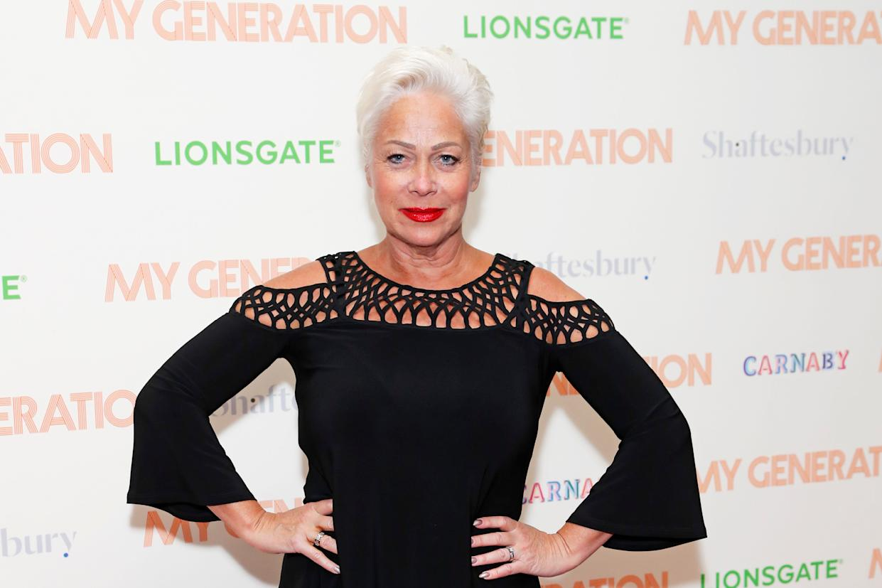 Denise Welch recalls row with Prince Andrew at charity event