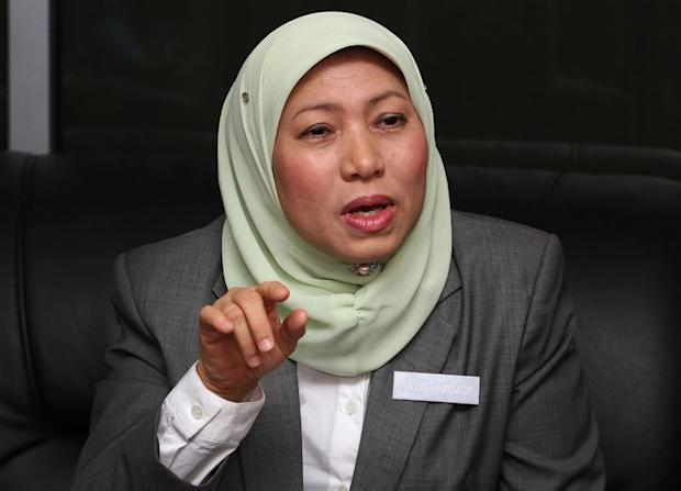 On Tuesday, Datuk Nancy Shukri said the final report of the Integrated Nuclear Infrastructure Review (INIR) Mission Phase 1 will be tabled to the Cabinet by next week. ― Picture by Yusof M