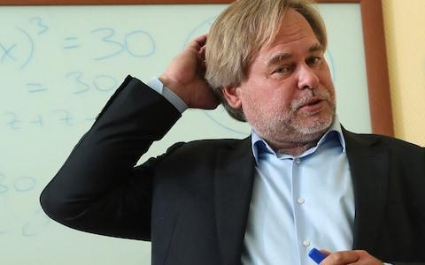 Russia's Kaspersky Lab CEO and Chairman Eugene Kaspersky - Credit: Getty