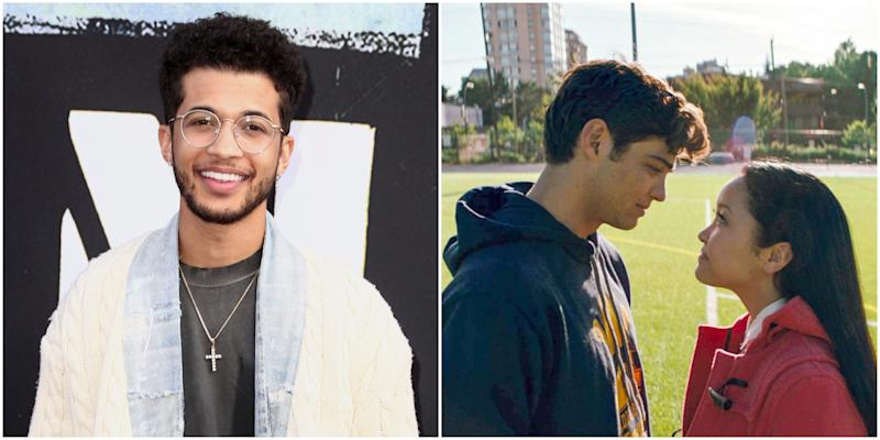 "Jordan Fisher Can't Confirm Whether John Ambrose Is in ""To All the Boys"" 3 But We Sure Hope So"