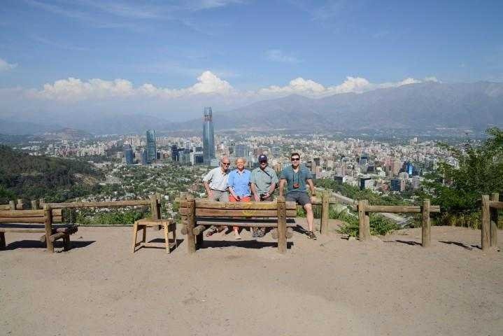 Group shot of the Test Your Limits team in Santiago, Chile.