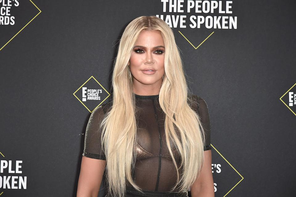 Khloe Kardashian thanked President Biden for officially recognizing the Armenian Genocide. (Photo:  David Crotty/Patrick McMullan via Getty Images)