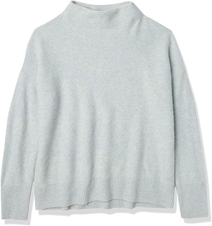 <p>Sweater weather has arrived, people! Personally, I'm all about cozy pullovers with a mock neckline. (It's more stylish than a typical crewneck and not quite a turtleneck, yet it's unapologetically chic.) Don't let its sticker shock fool you: the <span>Vince Women's Funnel Neck Pullover</span> ($395) is made with a super-soft cashmere, so I'll basically wear it all fall long.</p>