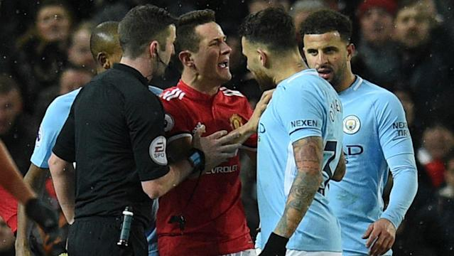 "After clashes between players in the wake of the Manchester derby, the FA has confirmed no ""formal action"" will be taken against the clubs"