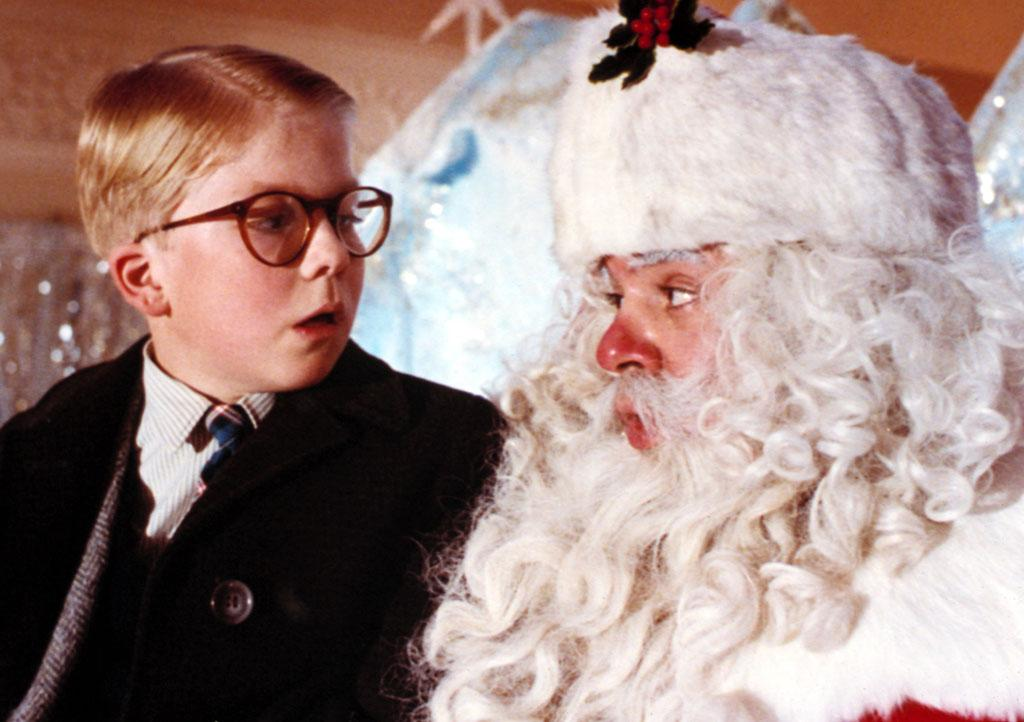"Peter Billingsley and Jeff Gillen in ""A Christmas Story"""