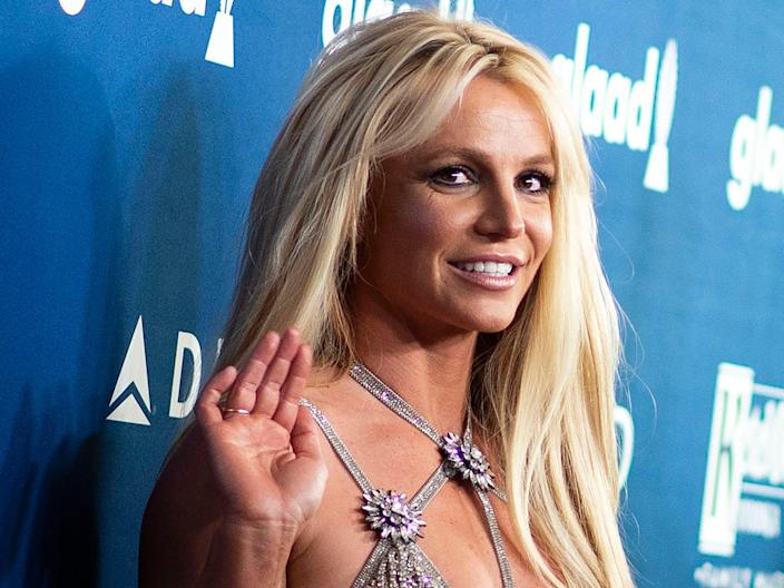 Britney Spears attends an event in 2018 (Valerie Macon/Getty)