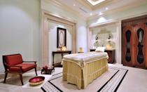 """<p>The <a rel=""""nofollow noopener"""" href=""""https://www.itchotels.in/"""" target=""""_blank"""" data-ylk=""""slk:ITC Grand Bharat hotel just launched an immersive wellness program"""" class=""""link rapid-noclick-resp"""">ITC Grand Bharat hotel just launched an immersive wellness program</a> that offers consultations with resident Ayurveda doctors. The sessions will assess guests' doshas and offer recommendations on treatments and dietary needs. <a rel=""""nofollow noopener"""" href=""""https://www.itchotels.in/hotels/gurgaon/itcgrandbharat/wellness/wellness-retreats.html"""" target=""""_blank"""" data-ylk=""""slk:The program"""" class=""""link rapid-noclick-resp"""">The program</a> also includes personalized yoga, fitness and meditation practice.</p> <p>Also at the retreat, guests can try guided nature <a rel=""""nofollow noopener"""" href=""""http://www.travelandleisure.com/trip-ideas/adventure-travel/best-hikes-in-america"""" target=""""_blank"""" data-ylk=""""slk:hikes"""" class=""""link rapid-noclick-resp"""">hikes</a>, cycling, and golf.</p>"""