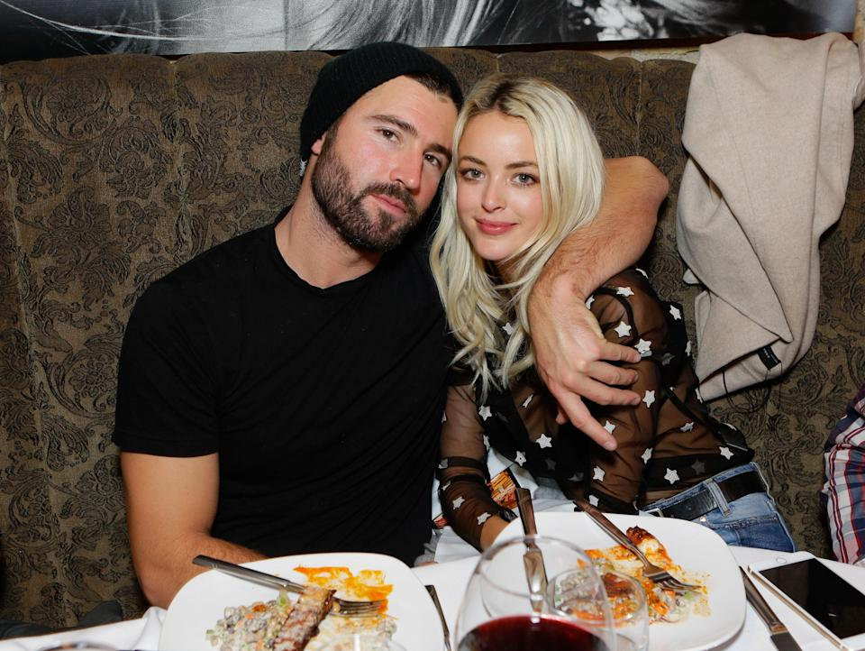 """The <em>Hills</em> star Brody Jenner and wife Kaitlynn Carter have split up after five years together and one year of marriage. """"Brody Jenner and Kaitlynn Carter have decided to amicably separate. They love and respect one another, and know that this is the best decision for their relationship moving forward,"""" a rep confirmed in a statement to <em><a href=""""https://www.eonline.com/ca/news/1061976/the-hills-brody-jenner-and-wife-kaitlynn-carter-break-up"""" rel=""""nofollow noopener"""" target=""""_blank"""" data-ylk=""""slk:E! News"""" class=""""link rapid-noclick-resp"""">E! News</a></em> on August 2."""
