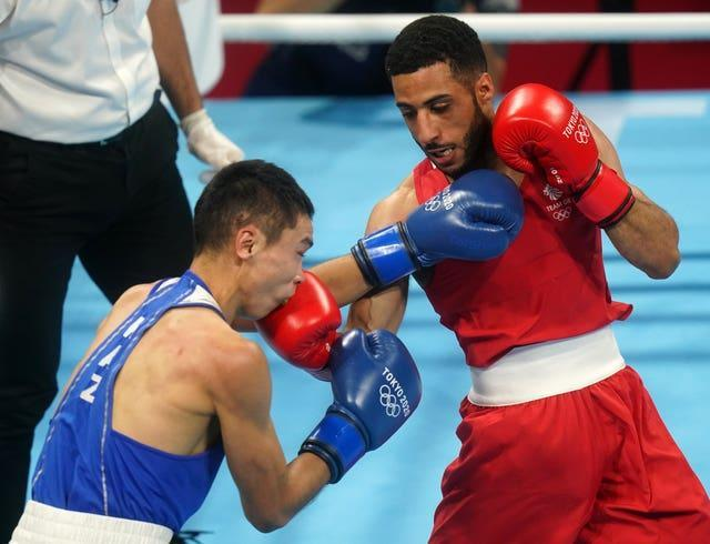 Galal Yafai, right, sprung out of the traps in his win over Saken Bibossinov (Adam Davy/PA)