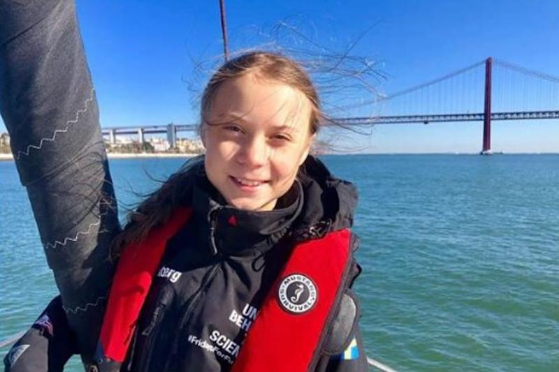 Greta Thunberg Says Countries Should Treat Climate Change with Same Urgency as Covid-19