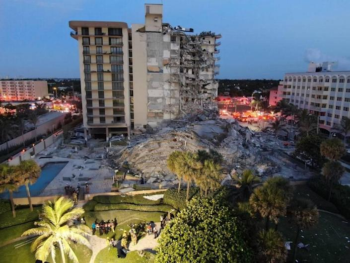 Part of Champlain Towers South Condo, in Surfside, collapsed early Thursday morning. Miami-Dade search and rescue is combing through the rubble for victims and survivors.