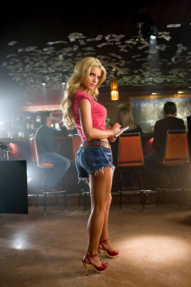"Jessica Simpson in the film version of ""The Dukes of Hazzard."" (Photo: Everett Collection)"