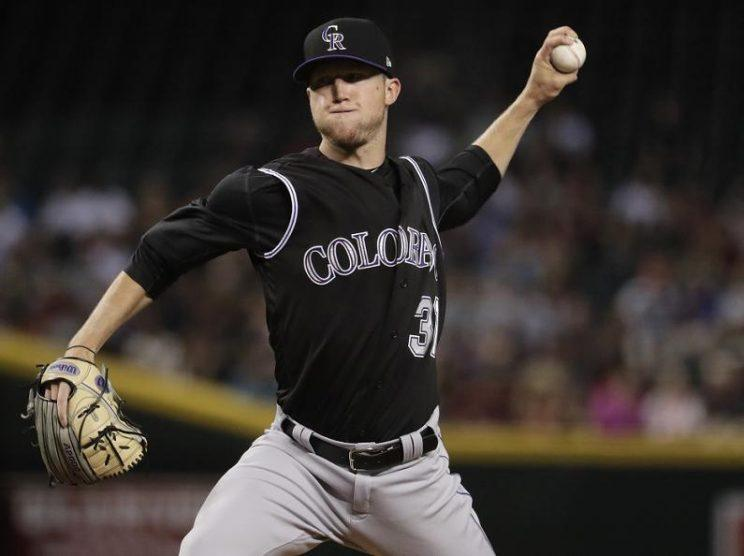 Denver native Kyle Freeland has provided a huge lift for the Rockies. (AP)