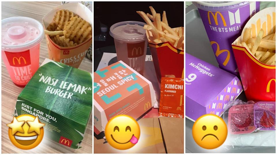 Can we start a petition for McDonald's to bring back some of their limited-edition meals? (Especially the Salmon Burger one!)
