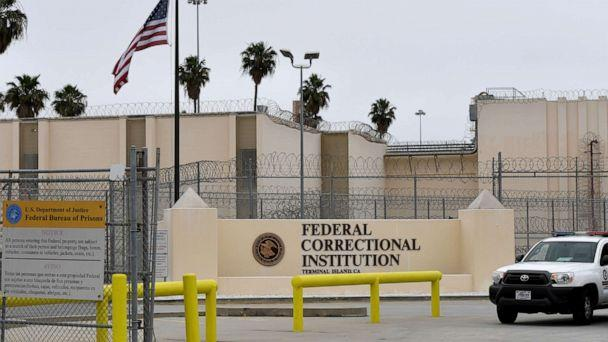 PHOTO: The Terminal Island Federal Correctional Institution is pictured in San Pedro, Calif., April 29, 2020. (Long Beach Press-Telegram via Getty Images)