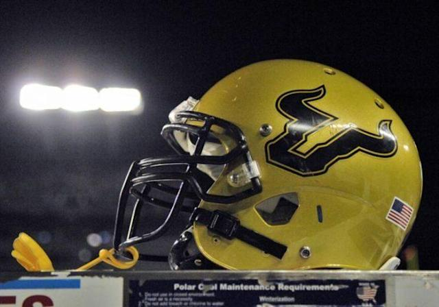"""Former USF DE <a class=""""link rapid-noclick-resp"""" href=""""/ncaaf/players/265790/"""" data-ylk=""""slk:LaDarrius Jackson"""">LaDarrius Jackson</a> has been charged with assaulting a second woman. (Getty)"""