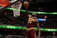 LeBron James left the Miami Heat in 2014 to join the Cleveland Cavaliers (AFP Photo/Patrick Smith)