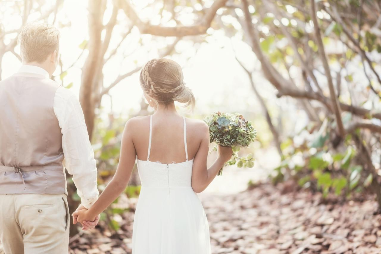 """<p>Whether you're planning a simple, toes-in-the-sand wedding ceremony or an over-the-top seaside affair on the oceanfront lawn of a <a href=""""https://www.coastalliving.com/travel/top-10/best-beach-hotels"""" target=""""_self"""">luxurious hotel</a>, one thing is for sure: every bride looks gorgeous on the beach.</p> <p>So what's the key to finding that perfect beachy-chic wedding dress? """"You definitely need to think about climate,"""" says Catherine Fox Milian, owner of Miami-based bridal boutique <a href=""""https://www.cpbride.com/"""" target=""""_blank"""">Chic Parisien</a>. """"Depending on the time of year, some beaches are hot and humid and others are breezy. And when the sun goes down, it could even get rather chilly."""" The key is to go with what's comfortable according to your own personal preference, and that will vary depending on the bride (and the weather!).</p> <p>Since most brides who plan to say """"I do"""" on the coast are planning <a href=""""https://www.coastalliving.com/lifestyle/destination-weddings"""" target=""""_self"""">destination weddings</a>, this might mean scheduling a few trips to your chosen locale so you can get an accurate feel for the weather and plan accordingly. Talk about a great excuse to plan a few pre-wedding getaways!</p> <p><strong>Related: </strong><a href=""""https://www.coastalliving.com/travel/honeymoons"""" target=""""_self"""">10 Amazing Honeymoon Destinations </a></p> <p>""""Since most beach weddings involve travel for the bride, it's important to remember that you need to plan for how you're going to transport your bridal gown,"""" says Fox Milian who launched <a href=""""https://thebeachbridebychic.com/"""" target=""""_blank"""">The Beach Bride by Chic Parisien</a>, a ready-to-wear destination wedding-themed brand featuring white bikinis, embroidered hats, fringe Turkish towels and more. """"And just because it's a beach wedding, doesn't mean you need to feel tied to a casual dress.""""</p> <p>From form-fitting silhouettes to flowy bohemian looks and even princess-style ball gowns, according to """
