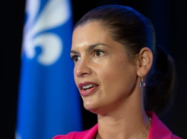 Quebec deputy premier and Public Security Minister Geneviève Guilbault says the government wants to put an end to recent incidents of gun violence in the Montreal area and elsewhere in the province. (Jacques Boissinot/The Canadian Press - image credit)