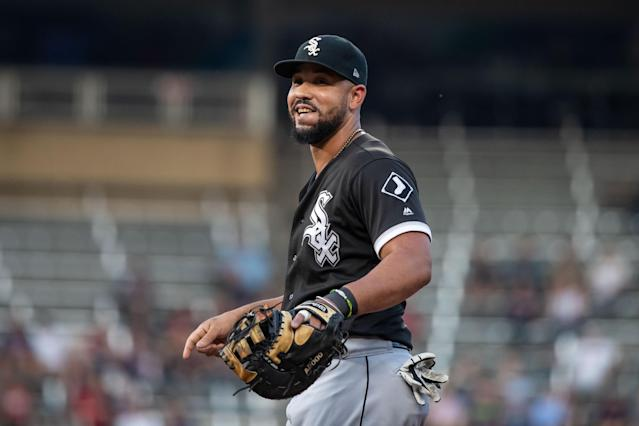 Jose Abreu has been a consistent power hitter in his six-year MLB career. Will it take him beyond Chicago now? (Jordan Johnson-USA TODAY Sports)