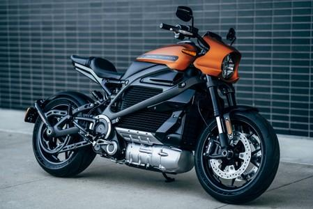 Harley-DavidsonÕs new electric bike, LiveWire, is shown in this handout photo