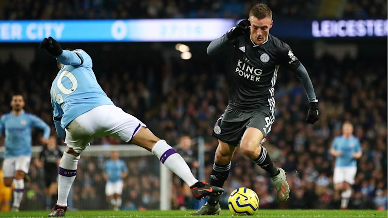'Exceptional' Vardy earns Guardiola praise ahead of Man City's Leicester test