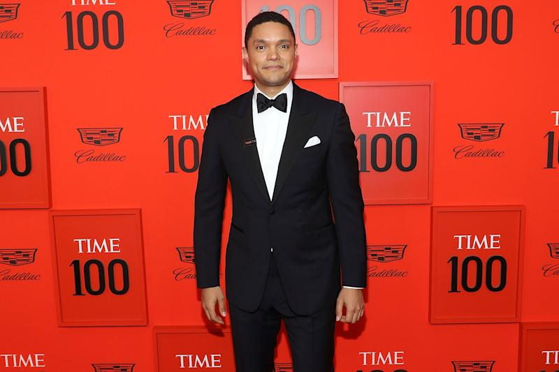 NEW YORK, NY - APRIL 23: Trevor Noah attends the 2019 Time 100 Gala at Frederick P. Rose Hall, Jazz at Lincoln Center on April 23, 2019 in New York City. (Photo by Taylor Hill/FilmMagic)