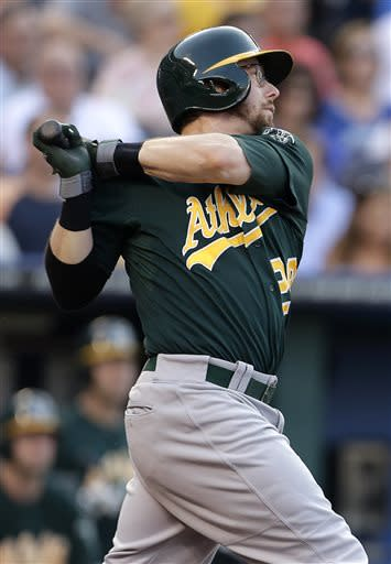 Milone pitches A's to 6-3 victory over Royals