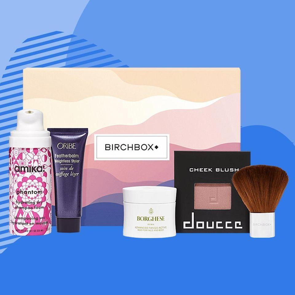 """<p><strong>Birchbox</strong></p><p>birchbox.com</p><p><strong>$13.00</strong></p><p><a href=""""https://go.redirectingat.com?id=74968X1596630&url=https%3A%2F%2Fwww.birchbox.com%2Fsubscribe%2Fwomen&sref=https%3A%2F%2Fwww.bestproducts.com%2Flifestyle%2Fg376%2Ftop-christmas-gift-ideas%2F"""" rel=""""nofollow noopener"""" target=""""_blank"""" data-ylk=""""slk:Shop Now"""" class=""""link rapid-noclick-resp"""">Shop Now</a></p><p>The most popular — and definitely among the most valuable — subscription box out there, Birchbox, was made by women for women to test their preferred products before the bigger buy. </p><p>An A+ pick for besties, each box features five trial-sized products you can tailor to her interests, including samples from cult classics and emerging brands. <a href=""""https://go.redirectingat.com?id=74968X1596630&url=https%3A%2F%2Fwww.birchbox.com%2Fgift%2Fmen&sref=https%3A%2F%2Fwww.bestproducts.com%2Flifestyle%2Fg376%2Ftop-christmas-gift-ideas%2F"""" rel=""""nofollow noopener"""" target=""""_blank"""" data-ylk=""""slk:There's one for men"""" class=""""link rapid-noclick-resp"""">There's one for men</a>, too!</p>"""