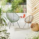"""<p>Whether you have a balcony or a sprawling garden, this on-trend string chair tick all the right boxes (there's even a matching one for kids, too). Complete the look with a cosy cushion and you'll never want to come back inside...</p><p><a class=""""link rapid-noclick-resp"""" href=""""https://www.aldi.co.uk/c/specialbuys/garden-shop"""" rel=""""nofollow noopener"""" target=""""_blank"""" data-ylk=""""slk:SHOP NOW"""">SHOP NOW</a></p>"""