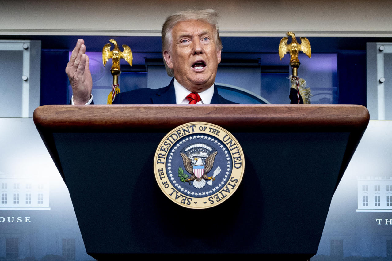 AP-NORC poll:  Trump faces deep pessimism as election nears