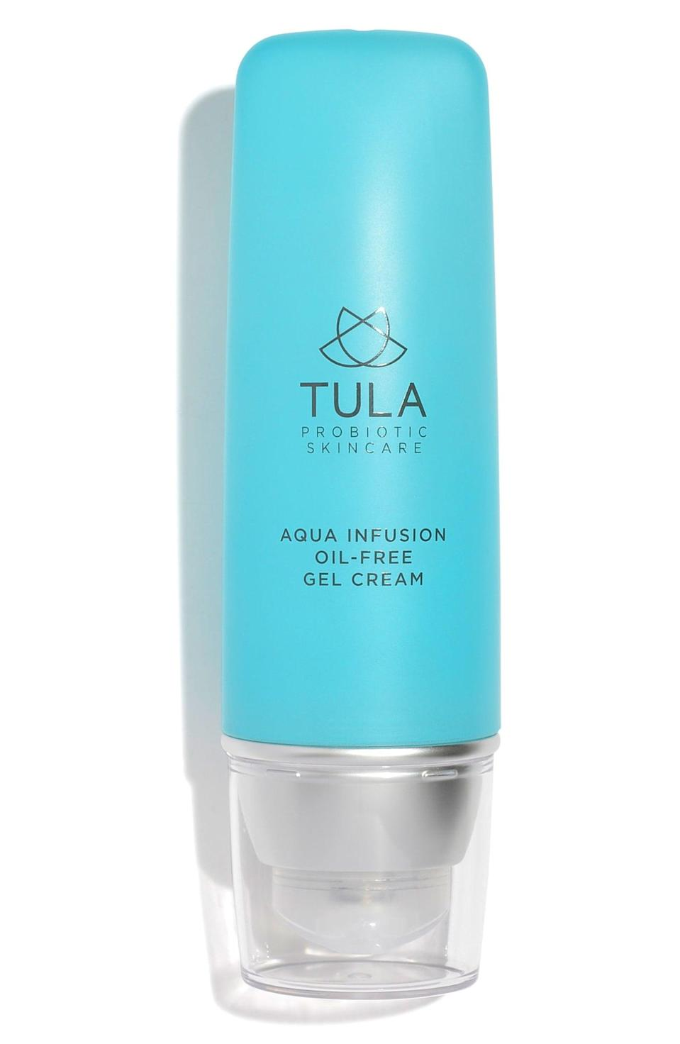 <p>This <span>Tula Probiotic Skincare Aqua Infusion Oil-Free Gel Cream</span> ($48) is a saving grace for your face. The cactus infusion helps calm stressed or irritated skin to produce a hydrated summertime glow.</p>