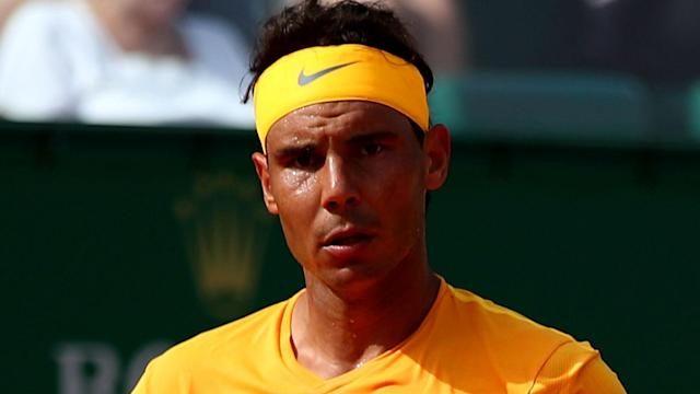 Aljaz Bedene was swept aside by Rafael Nadal in the second round of the Monte Carlo Masters, leaving the Spaniard in a positive mood.