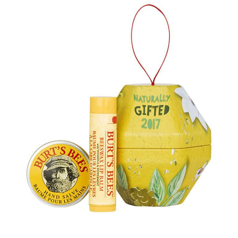 """<p><a rel=""""nofollow noopener"""" href=""""https://www.johnlewis.com/burt's-bees-bit-of-burt-beeswax-gift-bauble/p3303486#media-overlay_show"""" target=""""_blank"""" data-ylk=""""slk:John Lewis"""" class=""""link rapid-noclick-resp"""">John Lewis</a> - £6.99</p><p>Cracked hands and dry lips are inevitable when the temperature drops, which is why any pal would welcome Burt's Bees 100% natural hand salve and lip balm duo. And while you're at it, snap one up for yourself. It's Christmas, after all...</p>"""