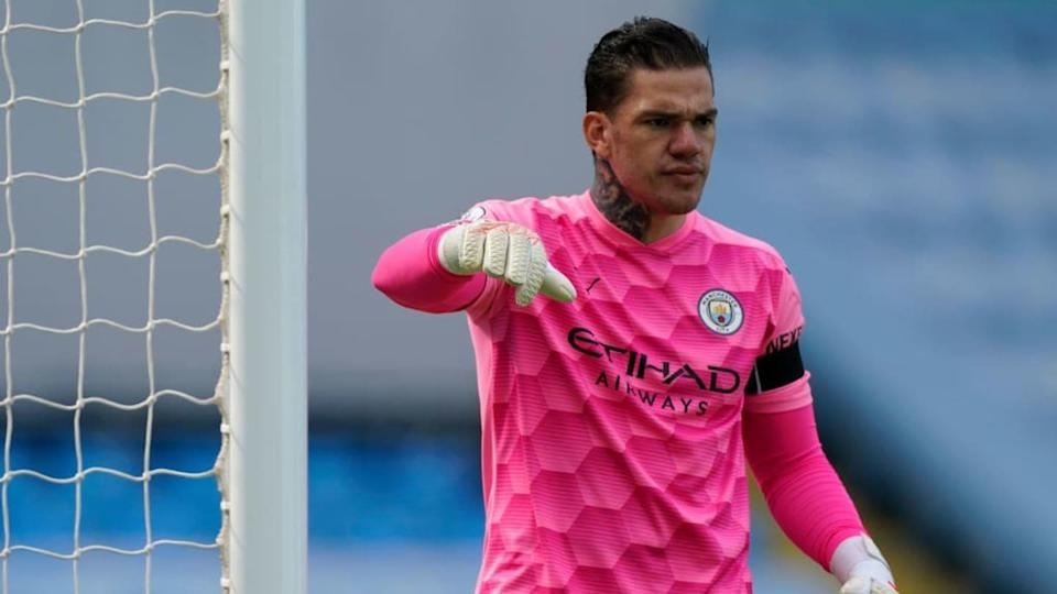 Ederson Moraes, Manchester City | Pool/Getty Images