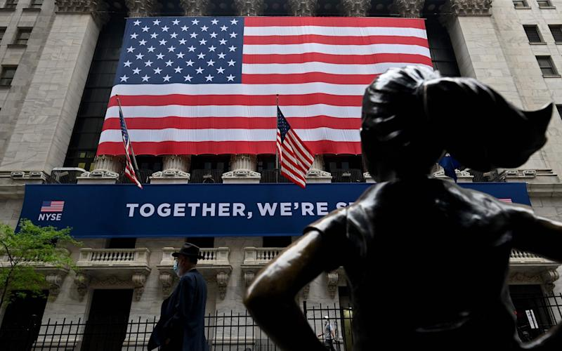 Wall Street - JOHANNES EISELE/AFP via Getty Images
